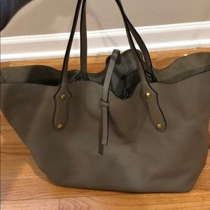 Annabel Ingall Large Isabella Tote - Taupe